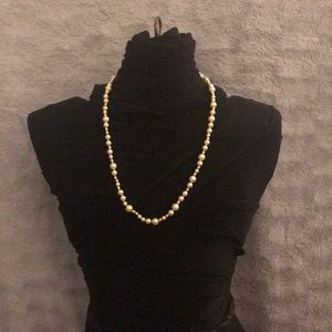 J Crew pearl necklace.